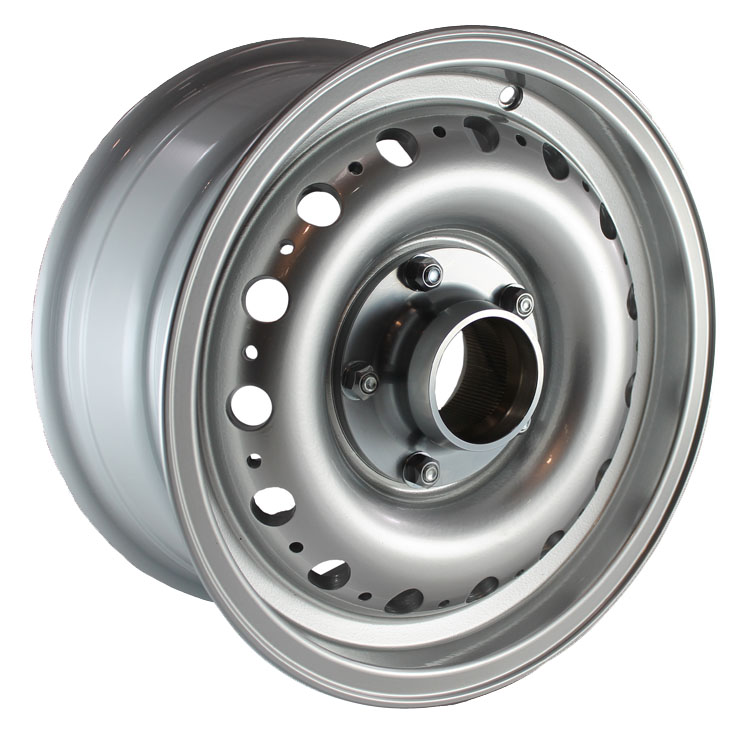 6 x 15 inch D-Type Alloy Wheel
