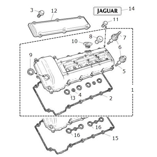 Gearbox Fault 160510 also Stock Illustration Guitar Shapes D Drawing Different Image47628302 furthermore 1xgml 2001 Jaguar Xkr Routing Diagram Serpentine Belt as well Showthread additionally XK8 97 99 Camshaft Cover And Gasket 40 V8. on jaguar s type 3 0