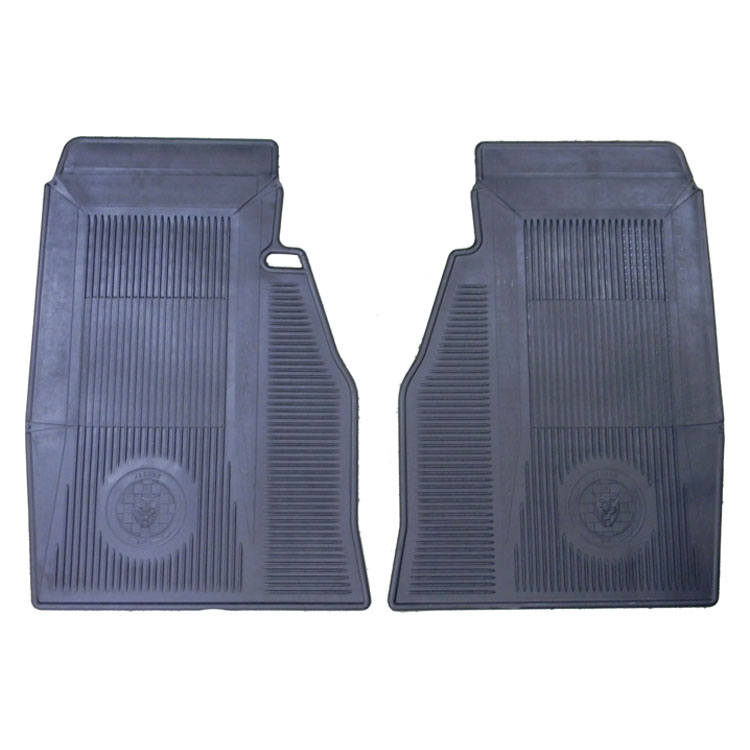 4fe2a4b95 Rubber AMCO Floor Mats - XKE6 1961-1971 Coupe & Roadster