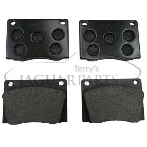 GBP707 Emergency hand brake pads Jaguar e type