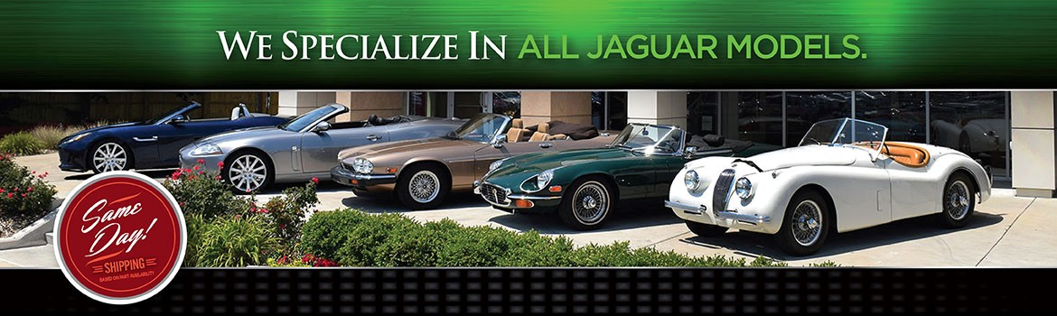 From Old To New Jaguar Parts Department ...