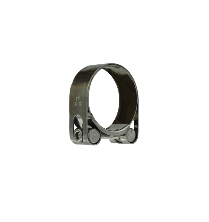 Stainless Steel HD Exhaust Clamp 45 - 50mm 1-7/8