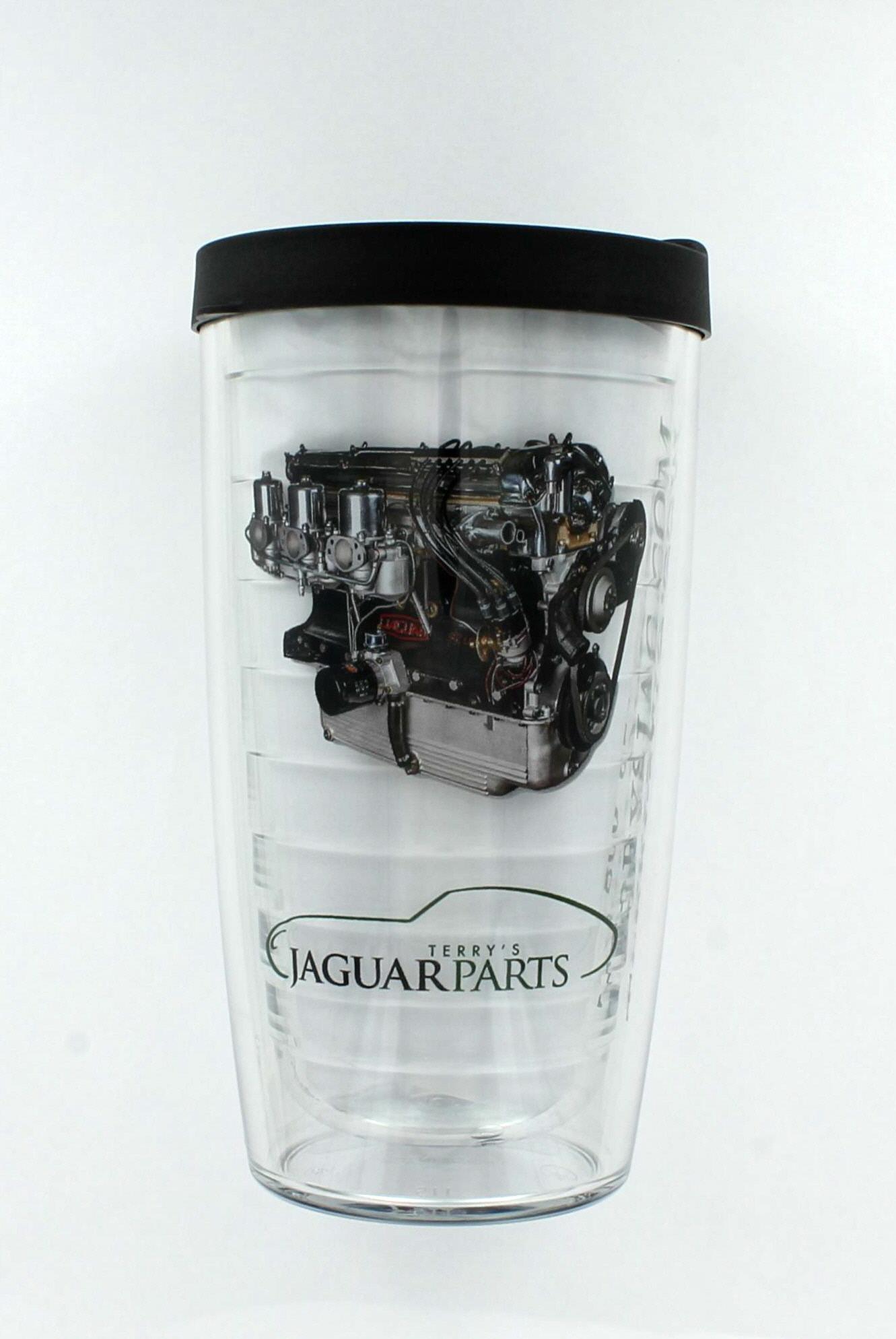 Terrys Jaguar Parts: Tervis Tumbler, Terrys Jag, XK Engine