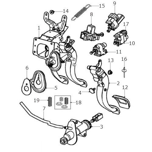 Brake Clutch Housing Manual Terrys Jaguar Parts