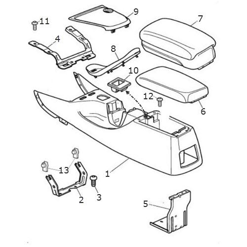 center console and armrest  terrys jaguar parts