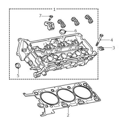 2002 Lincoln Continental Head Gasket: V6 Petrol: Terrys Jaguar Parts