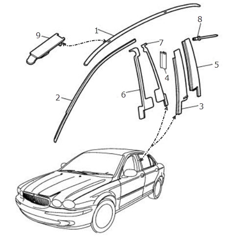 jaguar xk8 trunk wiring harness  jaguar  auto wiring diagram