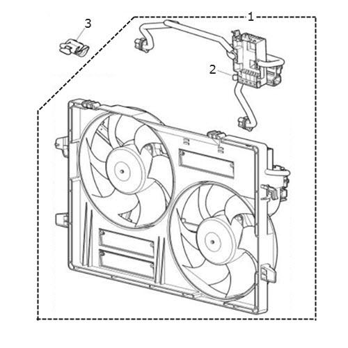 radiator fan cowl  terrys jaguar parts