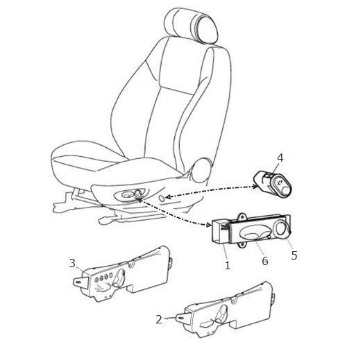 seat switch  terrys jaguar parts