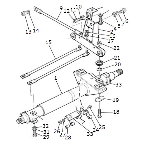 steering column and mounting