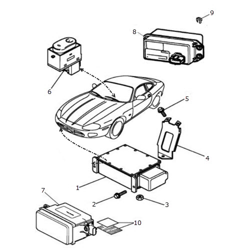 adaptive cruise control terrys jaguar parts rh terrysjag com Ford Cruise Control Diagram Ford Cruise Control Diagram