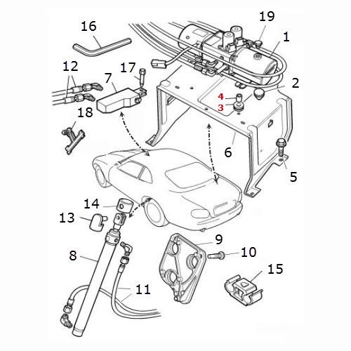 hood - lift mechanism