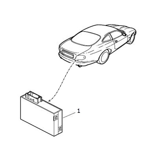 2001 Jaguar Xk Interior: Lighting Control Module: Terrys Jaguar Parts