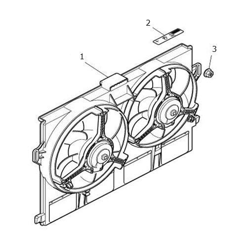 radiator fan and fan motors  terrys jaguar parts