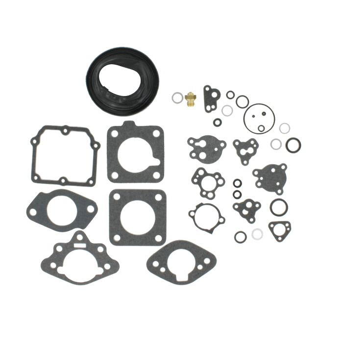 New Temperature Compensator Cover Kit Zenith Stromberg CD150 /& CD175 Carburators